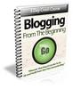 Thumbnail Blogging From Beginning PLR